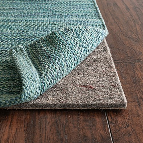 RUGPADUSA, Anchor Grip, 11'x15', 1/4' Thick, Felt + Rubber, Premium Non-Slip Rug Pad, Available in 3 Thicknesses, Many Custom Sizes, Safe for All Floors