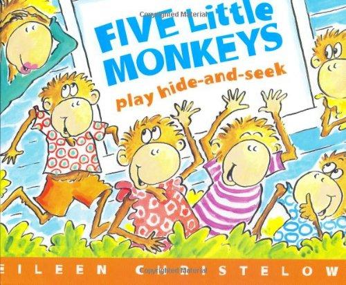 Five Little Monkeys Play Hide and Seek (A Five Little Monkeys Story)の詳細を見る