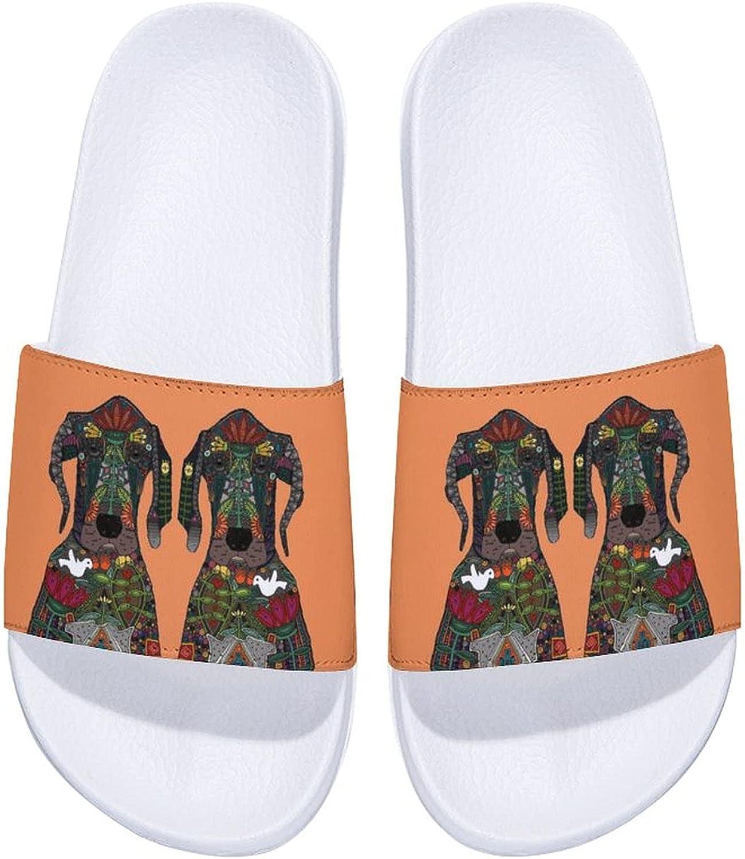 Deluxe favorite Great Dane Love Men's and Women's O Slide Sandals Comfort Indoor