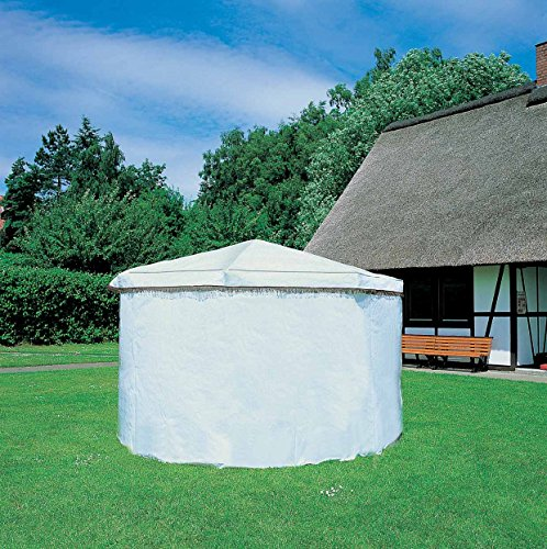 Wetterschutzumhang für das Pavillon Rosenheim, weiss