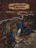 Dungeons & Dragons - Manuel des monstres IV - version française - version 3.5 du jeu