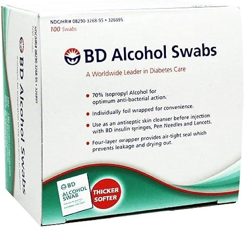 BD Alcohol Prep Swabs - 100 Swabs by BD
