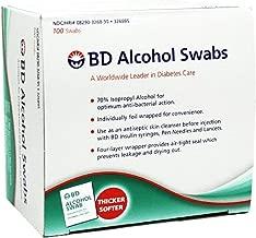 BD Alcohol Prep Swabs - 100 Swabs