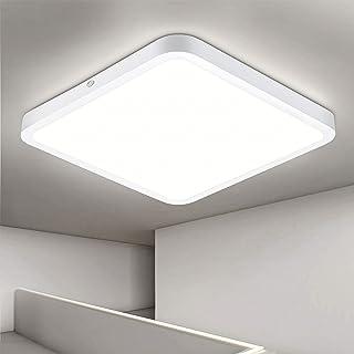 Oraymin 22W Plafonnier LED Ultra-Mince 2200LM LED Lampe de Plafond sans Scintillement Blanc Neutre 4000K Pour Chambre à Co...