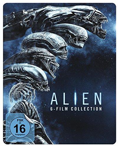 Alien 1-6: Steelbook [Alemania]