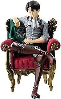 الهجوم على تيتان ليفي ريفيل منافس أكرمان أريكة الشكل التماثيل تمثال تمثال figuras جمع