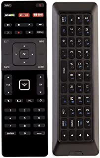 New XRT500 QWERTY Keyboard with Back Light Remote fit for VIZIO M43-C1 M49-C1 M50-C1 M55-C2 M60-C3 M65-C1 M70-C3 M75-C1 M8...