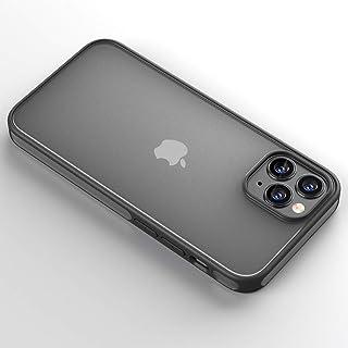 مناسبة لهاتف iPhone12 حافظة الهاتف المحمول بلوري شفاف متباين اللون غطاء ناعم: أسود، أزرق، أحمر، أخضر داكن