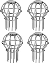 Gutter Guard 2 Inch 304 Stainless Steel Filter Strainer, Stops Leaves Seeds and Other Debris Gutter Cleaning Tool – 4 Pack (2INCH)