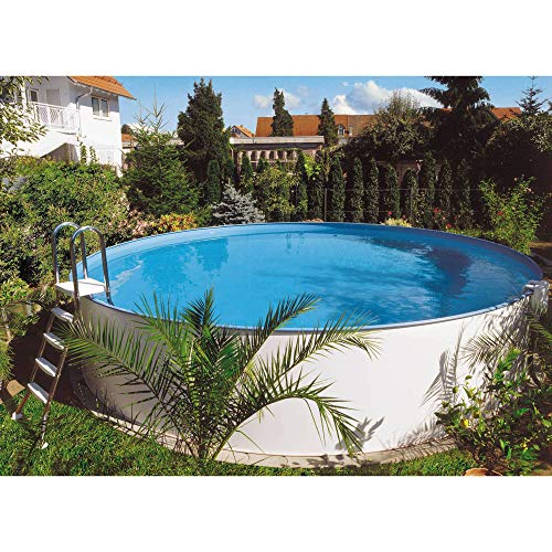Planet Pool Rundform Aufstellbeckenset Bermuda Ø 600x120cm (SW:0,6 IH:0,6)