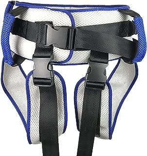 QETU Transfer Belt with Leg Loops - Medical Nursing Safety Gait Assist Device - for Adult,Elderly, Handicap Safety Harness Waist Lap Strap for Elderly
