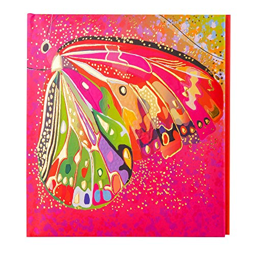 goldbuch Poesiealbum ´Flower pink Butterfly´, 165 x 165 mm
