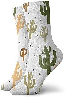 iuitt7rtree Calcetines de running Casual Cactus Athletic abstractos
