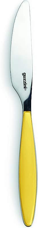 Guzzini Feeling 6 7 Inch L Fruit Knife Yellow