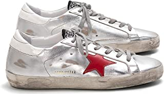 Golden Goose Men's Casual Sports Sneakers Non-Slip Retro Super Star Leather Shoes