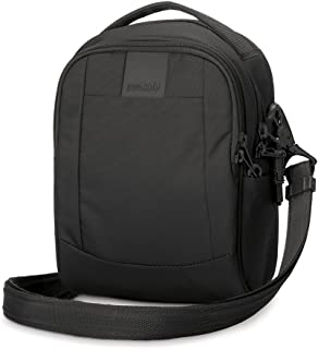 Pacsafe Men's Cross-Body Sling Bag, 3L, Black