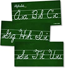 Cursive Alphabet Classroom Wall Strip Young N Refined (Laminated)
