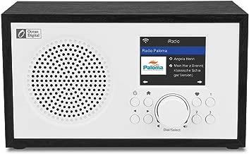 Ocean Digital Wi-Fi Internet radios WR100F FM Digital Radio with Bluetooth Speaker & Sleep Radio, Aux in, 26000+ Stations, 2.4