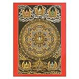 Thangka Avalokitesvara Mandala Druck Kunstdruck