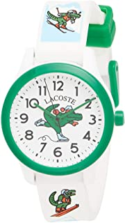 Lacoste Unisex-Child Quartz Watch, Analog Display and Silicone Strap 2030022