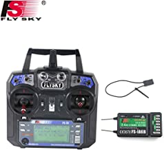 Flysky FS-i6 6CH 2.4GHz AFHDS RC Transmitter w/FS-iA6B Receiver for RC Multirotor Helicopter Airplane Glider Quadcopter (Model_2)
