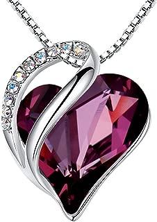 Best heart shaped necklace pendant Reviews