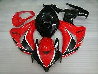 2008 2009 2010 2011 Fit for HONDA CBR1000RR Injection mold Fairings Bodywork Plastic Red Black Body Kit
