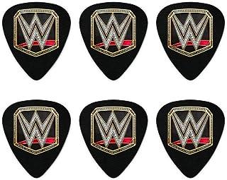WWE World Heavyweight Champion Title Logo Novelty Guitar Picks Medium Gauge - Set of 6