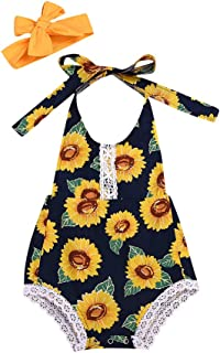 SANGQU Baby Toddler Boys Girls Romper Cartoon Fruit Print Jumpsuit Clothes