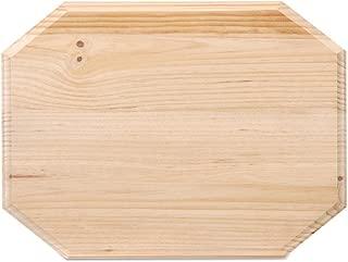 Darice Wooden Octagon Plaque, Natural
