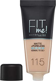 Maybelline Fit Me Foundation Matte Poreless 115 Ivory 30ml