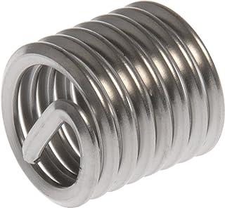 Zinc CLR 20 PK Slotted Body Insert LG FLNG HD M8x1.25 0.51-7.11mm GR Pre-Bulbed Body AESM8P7.1PBZNR Steel