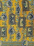 Roya Textile Hochwertiger Baumwollstoff, bedruckt –