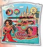 Juego de papelería de Disney Elena de AVALOR 5 piezas