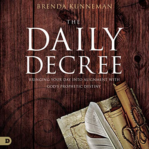 The Daily Decree Audiobook By Brenda Kunneman cover art