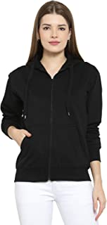 Scott International Women's Cotton Hooded Hoodie
