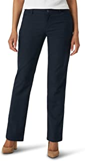 Lee Wrinkle Free Relaxed Fit Straight Leg Pant