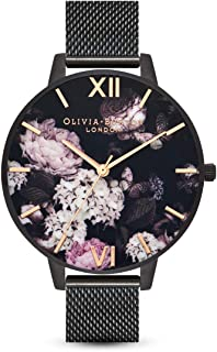 Olivia Burton Womens Analogue Quartz Watch with Stainless Steel Strap OB16AD35