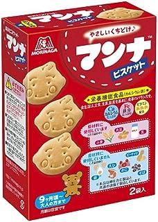 森永製菓 マンナビスケット 86g(43g×2袋)×5箱【栄養機能食品(カルシウム・鉄)】