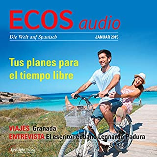 ECOS Audio - Tus planes para el tiempo libre. 1/2015     Spanisch lernen Audio - Deine Freizeitpläne              Autor:                                                                                                                                 Covadonga Jimenez                               Sprecher:                                                                                                                                 div.                      Spieldauer: 1 Std. und 1 Min.     Noch nicht bewertet     Gesamt 0,0