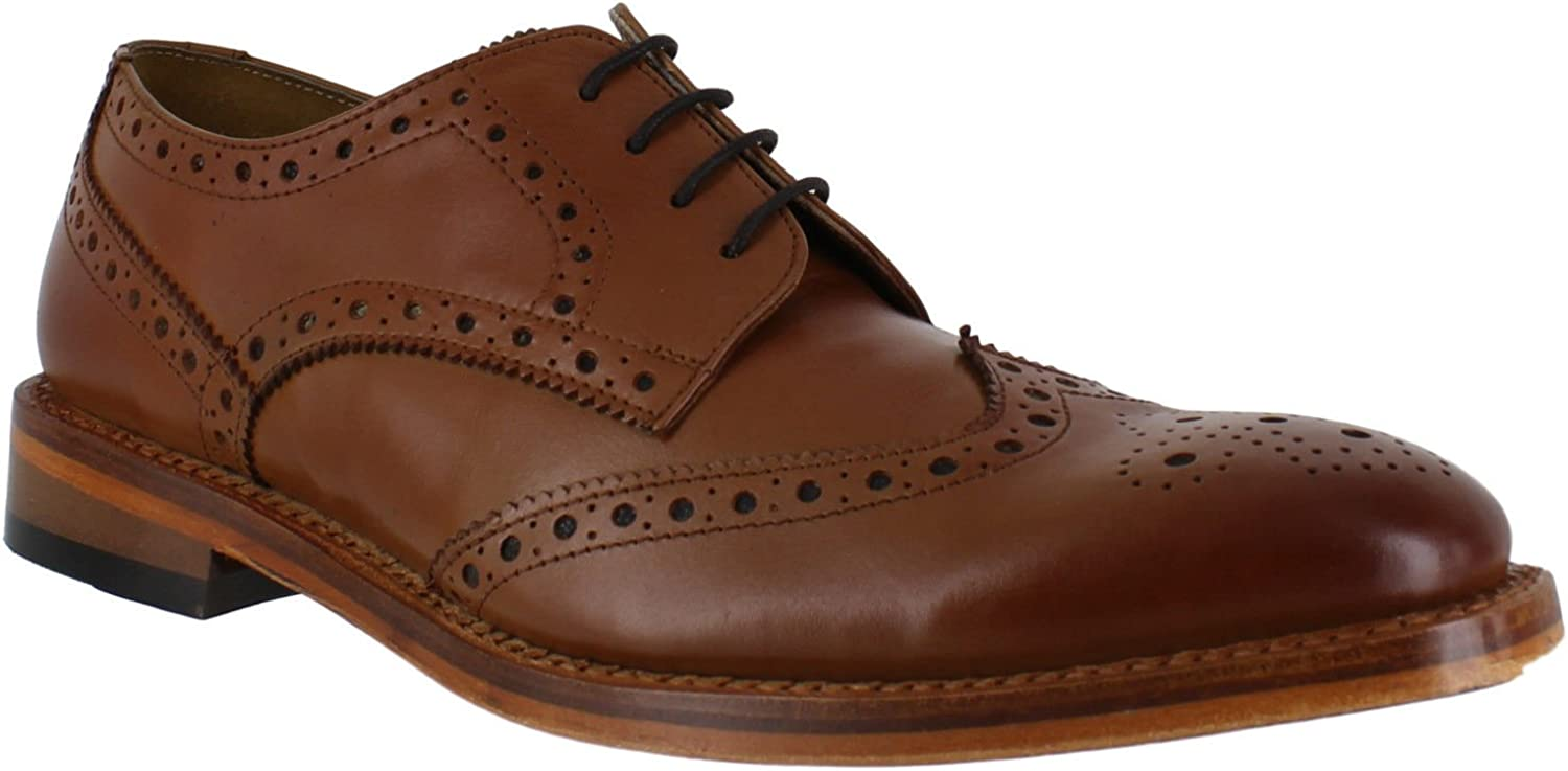 Catesby Surrey Mens Formal Goodyear Welted Lace Up Wingtip Brogues shoes