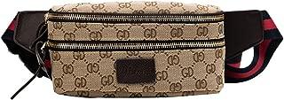 Waist Bag for Womens Fanny Packs Fashion Flap Crossbody Bags Quilted Belt Bag Ladies Waist Purse (Waist Bag for Brown 2)