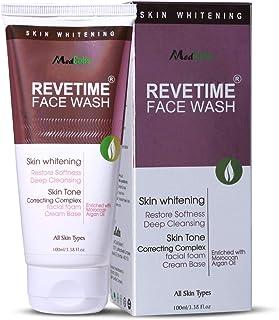 Revetime Anti Aging & Skin Brightening Face Wash-Dry, Oily Skin-for Men and Women-100ml