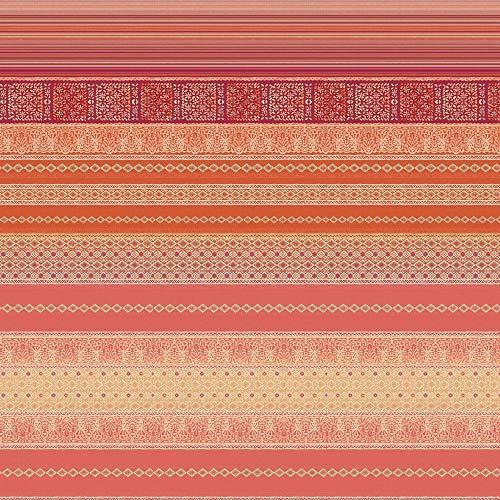Bassetti 9311042 Foulard Italiana In Algeri R1 rot 350 x 270 cm