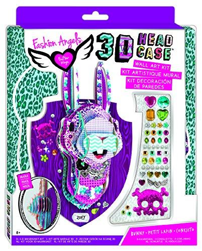 Fashion Angels 11950 - 3D Puzzle Kopf Hase FA40374