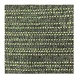 Craft Story Decke YARA I Uni apfelgrün aus 100% Baumwolle I Tagesdecke I Sofa-Decke I Couch-Überwurf I Bedspread I Plaid I Picknickdecke I Läufer I Nutzdecke I 170 x 220cm - 3
