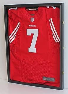 Ultra Clear PRO UV Basketball, Football, Hockey Jersey Frame Uniform Display Case, Lockable (JC01)