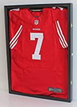 Ultra Clear PRO UV Basketball, Football, Hockey Jersey Frame Uniform Display Case, Lockable (JC01)