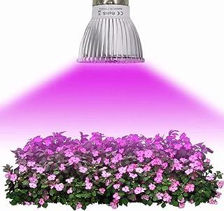 Bombilla de luz de planta LED Lámpara de cultivo Parche Luz de día súper brillante E14 18W IP42 para cada período de crecimiento Iluminación de 120 °, Tamaño: 5 * 5 * 7.5 CM (2 unidades)