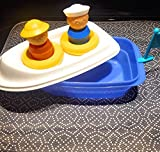 Tupperware Canoe Bath Fun Toy